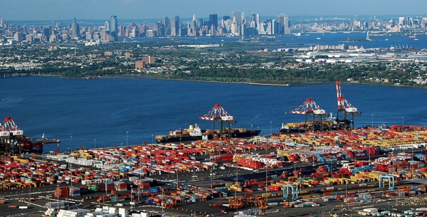 York and New Jersey container terminals