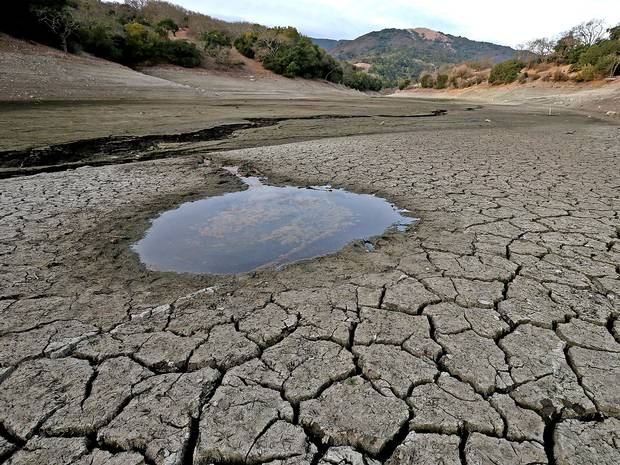 the scarcity of water and the drought.