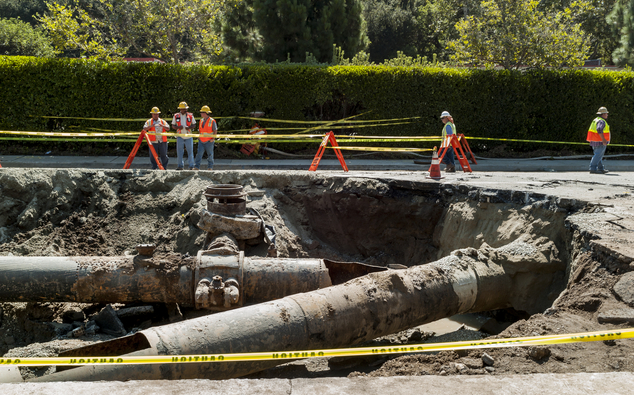 Loss Of 15 Million Gallons Of Water Due To Pipeline Burst