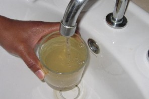 Discoloration Of Water In The Taps