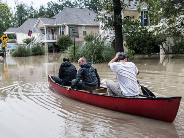 Flood In South Carolina